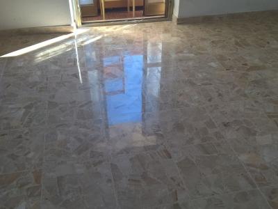 lucidatura pavimento in marmo a pescara 3