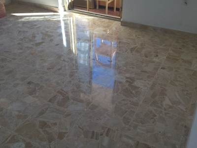 lucidatura pavimento in marmo a pescara 4